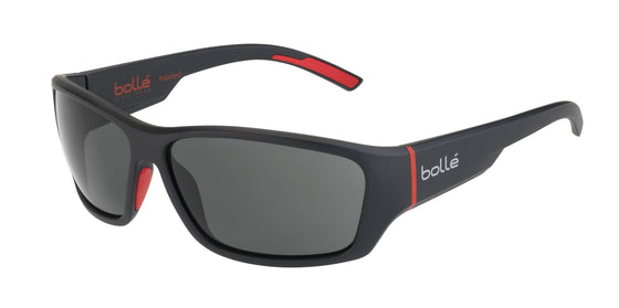 Bolle Ibex 12372<span>- Matte Black Red with Polarized TNS Oleo AF Lens</span>