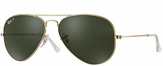 Ray-Ban Aviator Classic G-15 Polarized Sunglasses