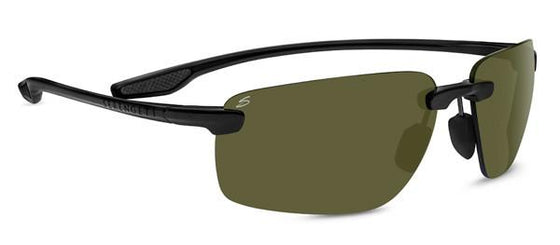 Serengeti Erice 8501 Sunglasses <span>- Satin Black, Polar PhD 555nm (green) Photochromic Lenses</span>