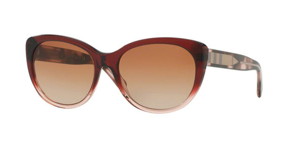 Burberry Check Detail Cat Eye Sunglasses