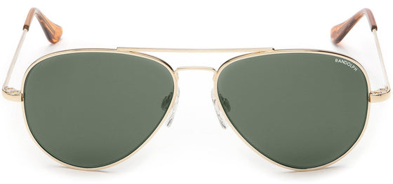 Randolph Concorde Sunglasses <span>-23K Gold with AGX Green</span>