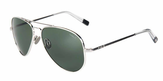 Randolph Concorde White Gold Limited Edition Sunglasses<span>- Polarized AGX & Blue Hydro</span>