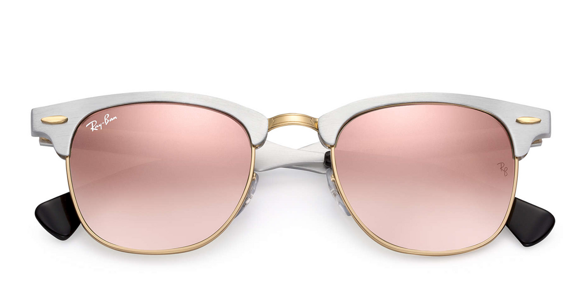 079f1291cdc Ray-Ban Clubmaster Aluminium Flash lens Gradient RB3507 137 7O - Sky Optics