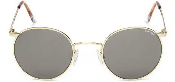 Randolph P3 Sunglasses<span>-23K Gold, Gray Mineral Glass Lenses</span>