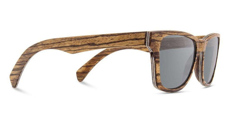 dc928a3aba Shwood Canby Wood Sunglasses  Distressed Dark Walnut w  Grey Lens ...