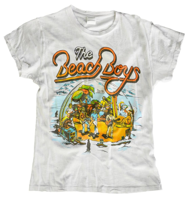 The Beach Boys Crop Tee-MadeWorn-Tucci Boutique
