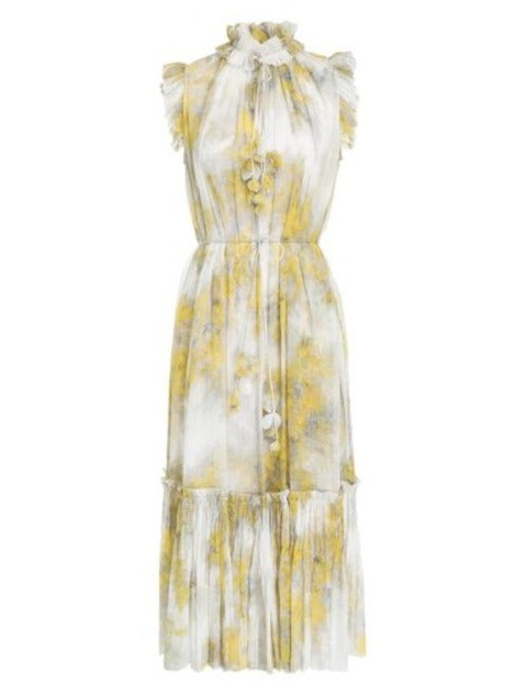 Botanica Waddle Midi Dress