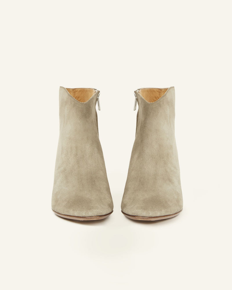 Dacken Boot - Taupe-Isabel Marant-Tucci Boutique