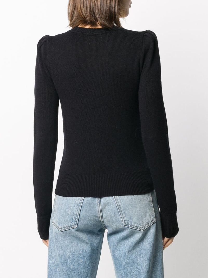 Kleely Pullover - Black-Isabel Marant Étoile-Tucci Boutique