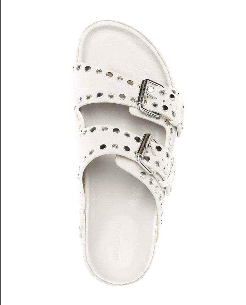 Lennyo Sandals - Chalk-Isabel Marant-Tucci Boutique