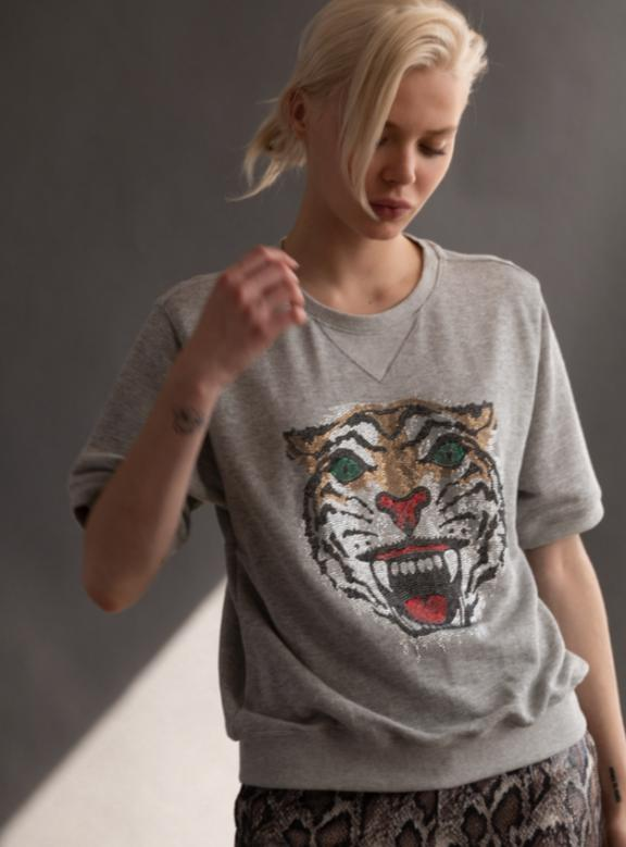 Angry Tiger P.E. Sweatshirt-Le Superbe California-Tucci Boutique