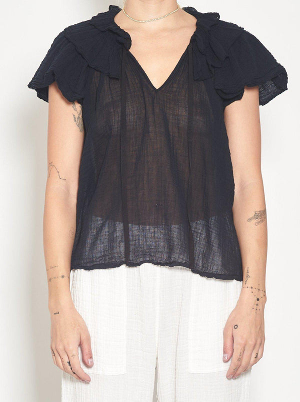 Lotus Blouse-Raquel Allegra-Tucci Boutique