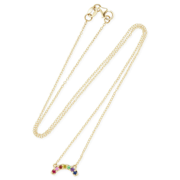 Single Row Rainbow Necklace-Andrea Fohrman-Tucci Boutique