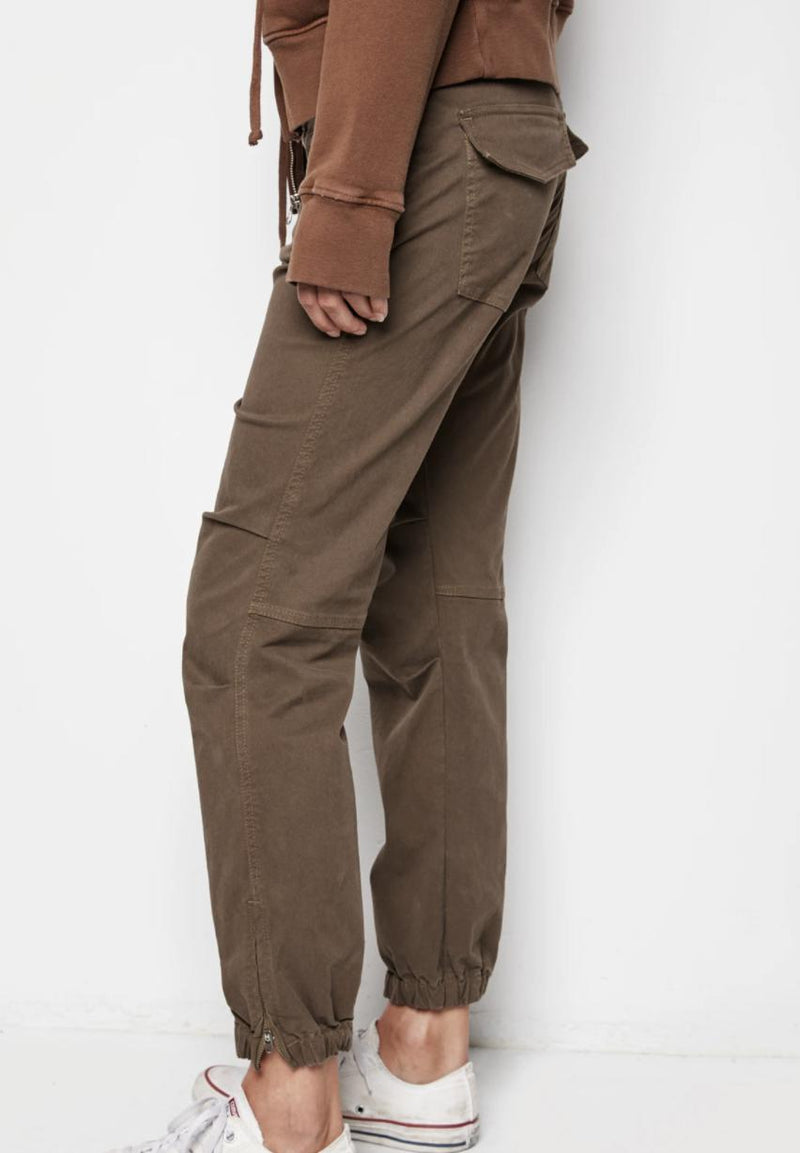 French Military Pant - Mahogany-Nili Lotan-Tucci Boutique