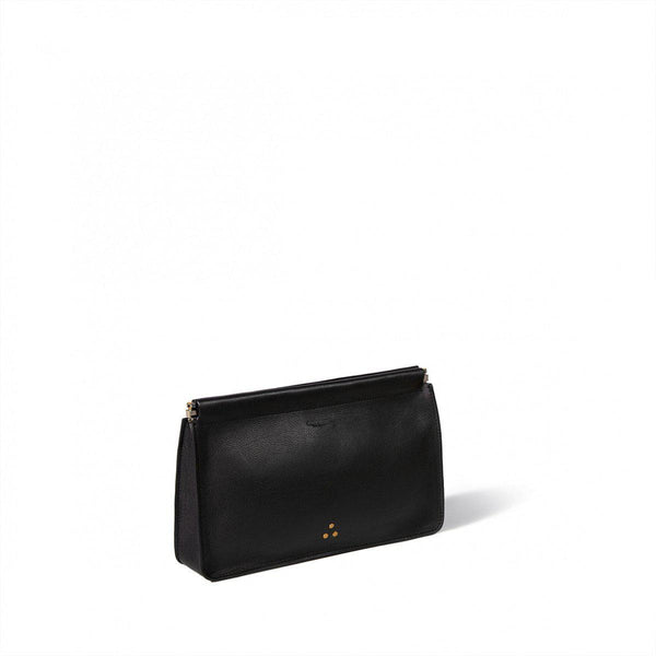 Clic Clac Black Clutch-Jerome Dreyfuss-Tucci Boutique