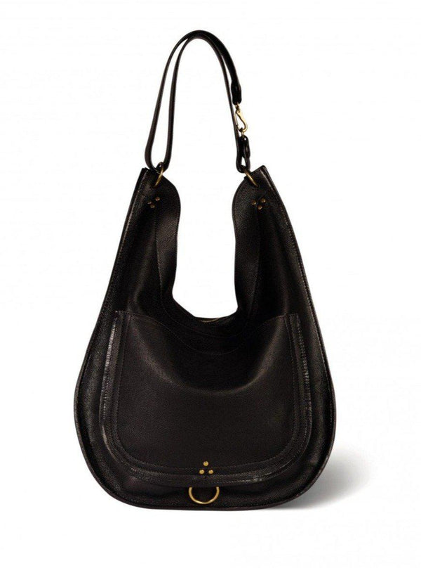 Edgar L Handbag - Noir Brass-Jerome Dreyfuss-Tucci Boutique