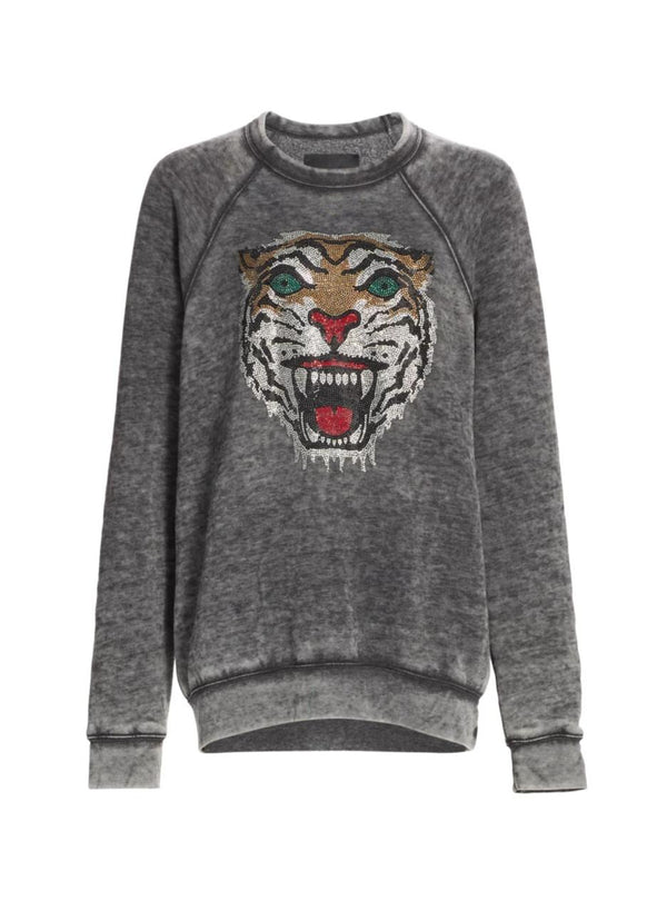 Angry Tiger Sweatshirt-Le Superbe California-Tucci Boutique