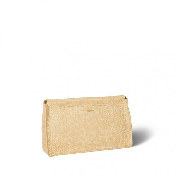 Clic Clac Clutch - Croco Ficelle-Jerome Dreyfuss-Tucci Boutique