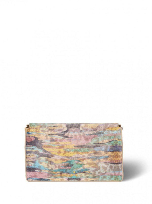 Clic Clac Clutch - Psyché Split Suede-Jerome Dreyfuss-Tucci Boutique