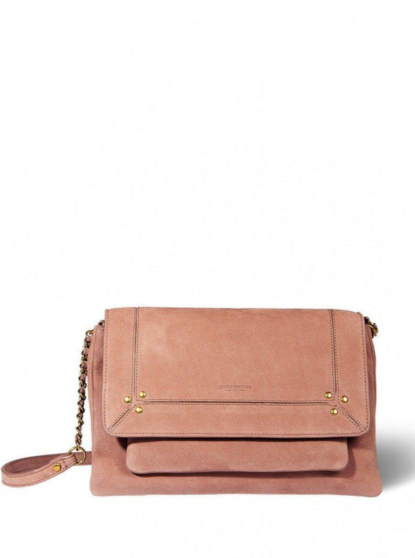 Charly Medium Handbag - Bois De Rose-Jerome Dreyfuss-Tucci Boutique