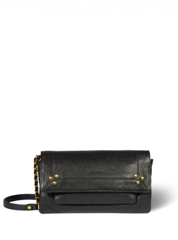 Charly Small Handbag - Noire Graine-Jerome Dreyfuss-Tucci Boutique
