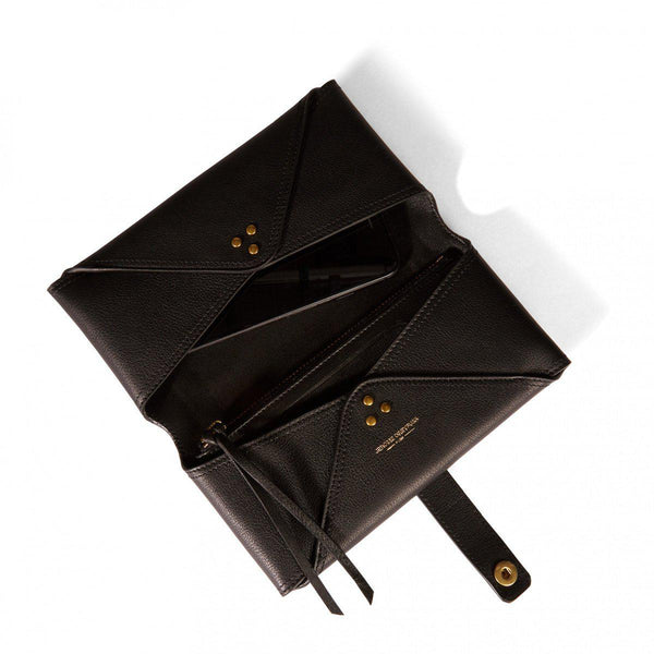 Porte Mobile Wallet - Noir Brass-Jerome Dreyfuss-Tucci Boutique