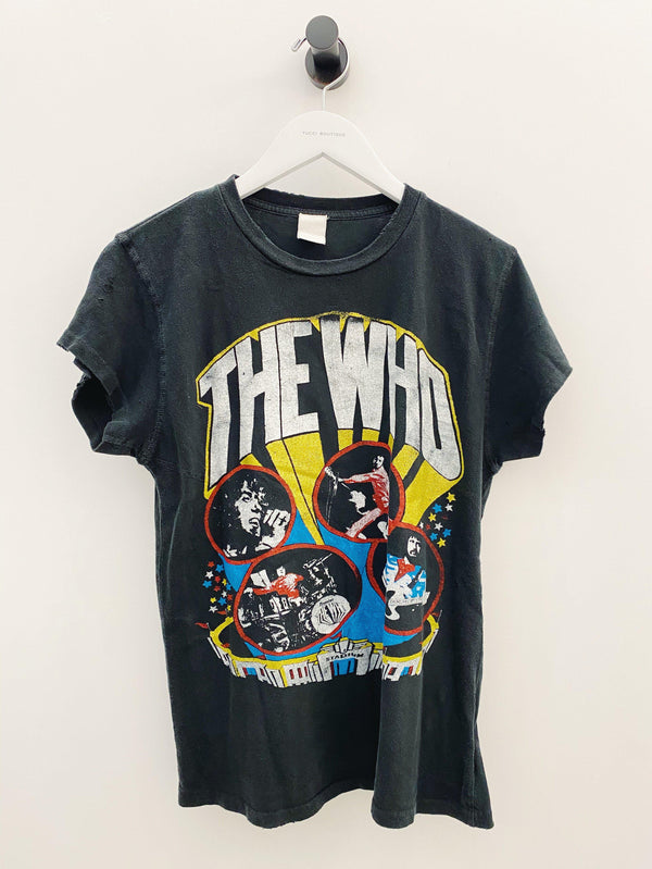 THE WHO 1982 Tee-MadeWorn-Tucci Boutique