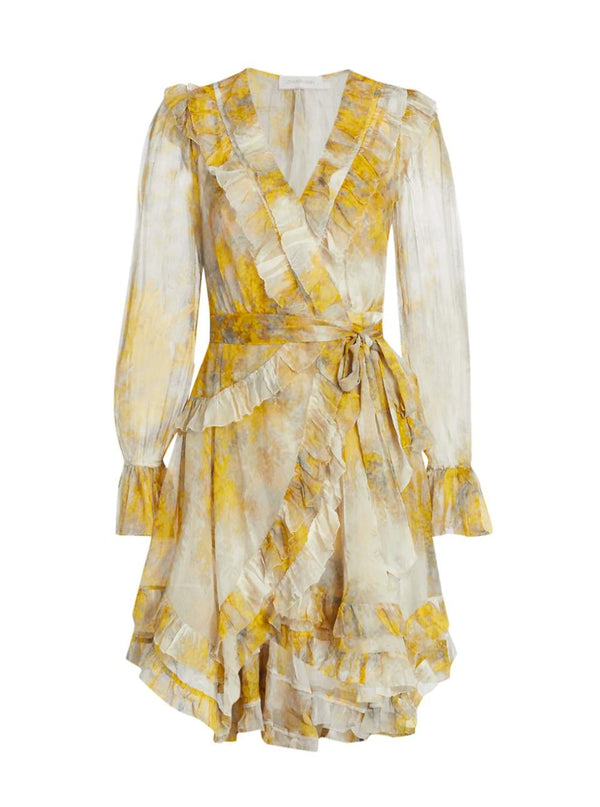 Botanica Frill Wrap Dress-Zimmermann-Tucci Boutique