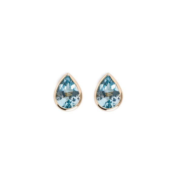 Small Raindrop Stud Earrings-Brent Neale-Tucci Boutique
