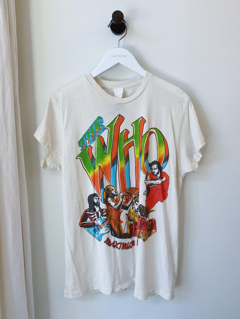 THE WHO Tee-MadeWorn-Tucci Boutique