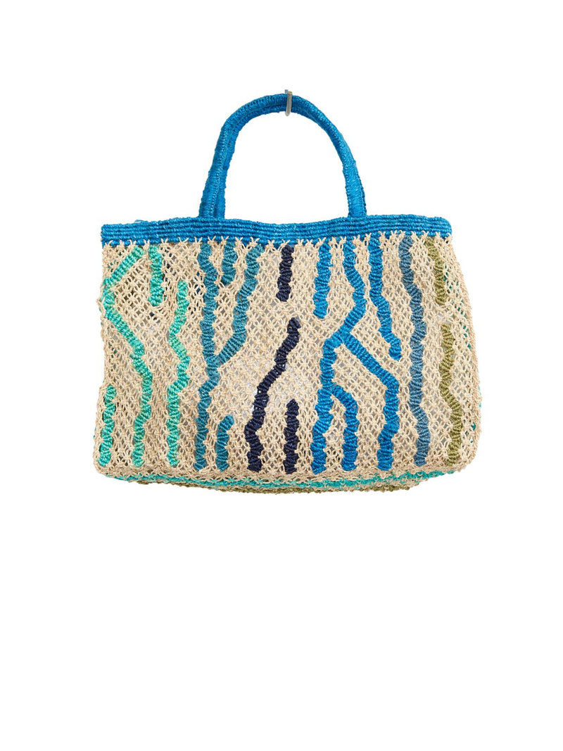 Tiger Print Beach Tote - Small-The Jacksons-Tucci Boutique