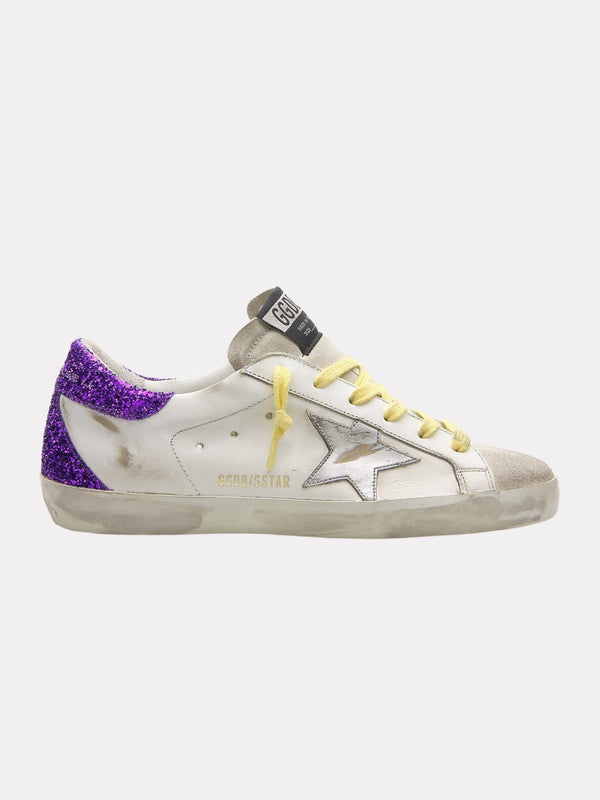 *PRE-ORDER* Superstar Sneakers - White, Ice, Silver & Purple