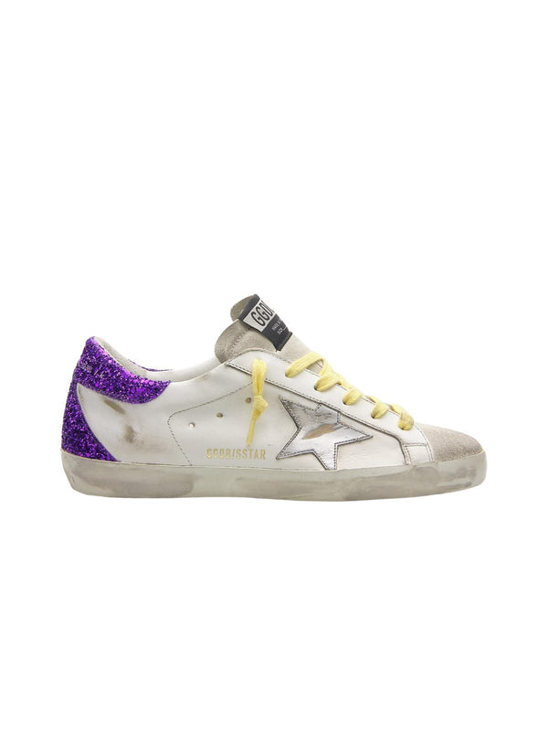 *PRE-ORDER* Superstar Sneakers - White, Ice, Silver & Purple-Golden Goose Deluxe Brand-Tucci Boutique