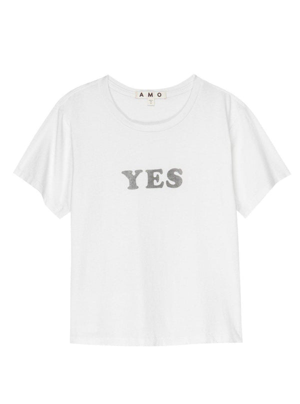 YES Classic Tee-AMO-Tucci Boutique