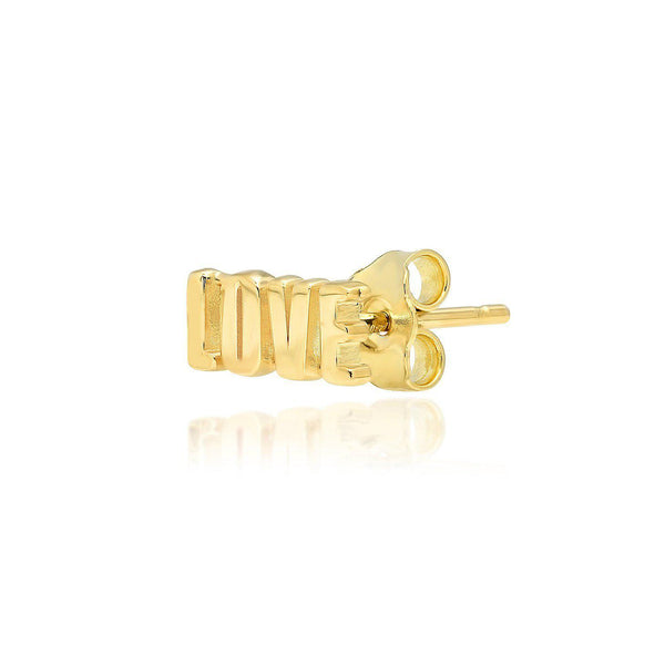 Love Stud Earrings-Established-Tucci Boutique