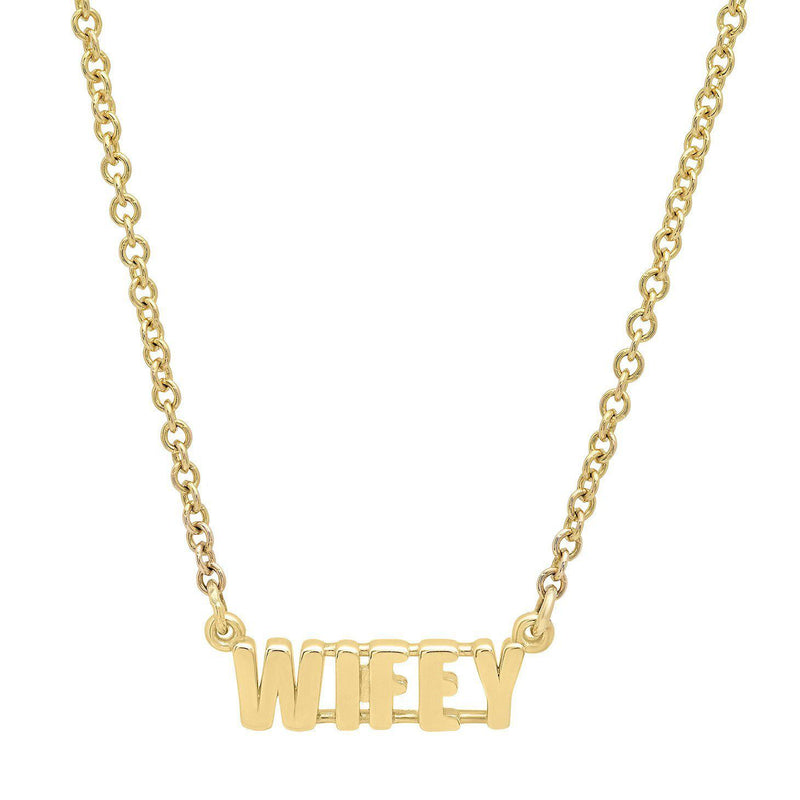 Wifey Necklace-Established-Tucci Boutique