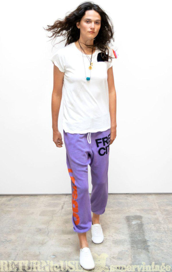 LETSGO OG SUPERVINTAGE Sweatpants - Lavenderlove-Free City-Tucci Boutique
