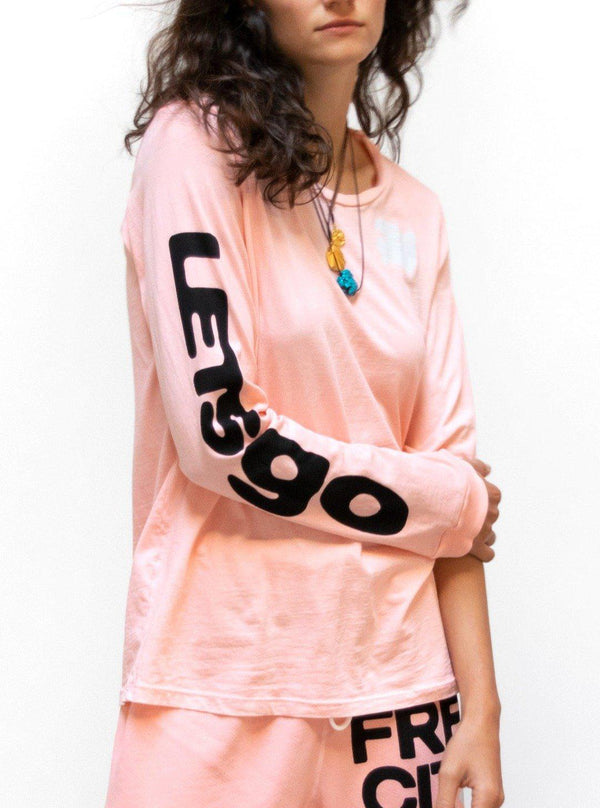 LETSGO SUPERVINTAGE Long Sleeve Tee - Harry's Bellini-Free City-Tucci Boutique