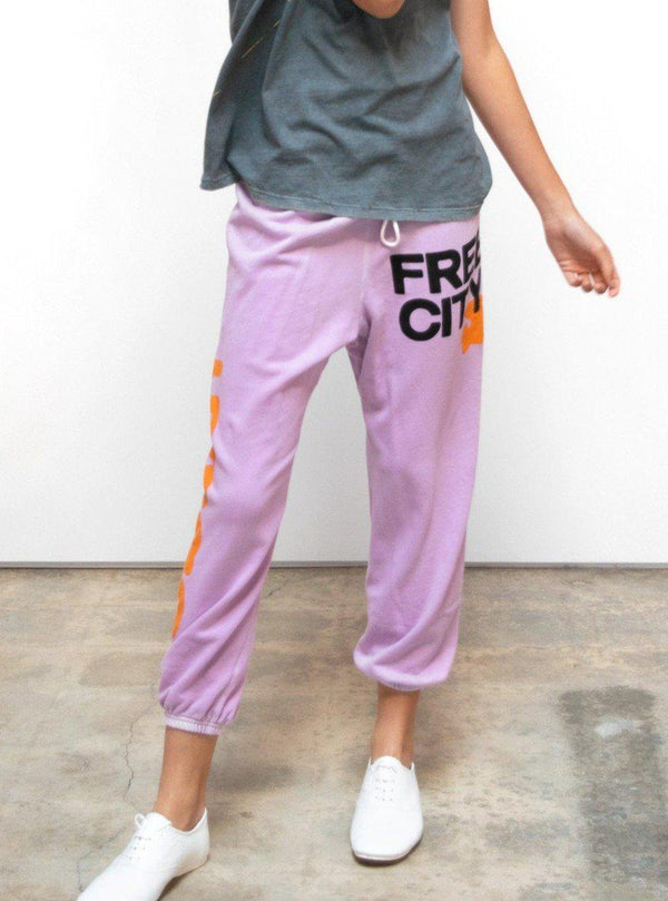 LETSGO OG SUPERVINTAGE Sweatpants - Pinkmilk-Free City-Tucci Boutique
