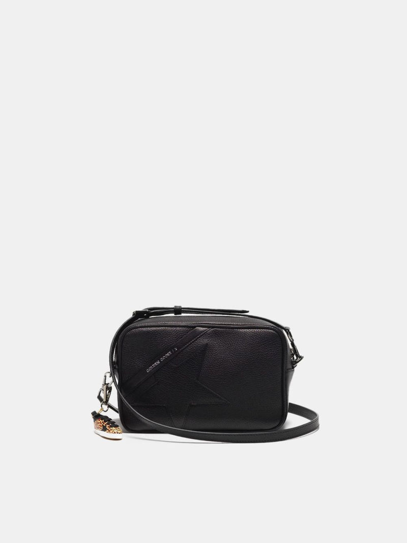 Star Bag - Black Leather-Golden Goose Deluxe Brand-Tucci Boutique