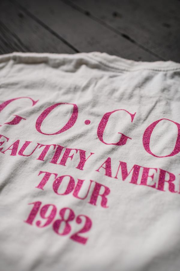 The Go-Go's 1982 Crop Tee-MadeWorn-Tucci Boutique
