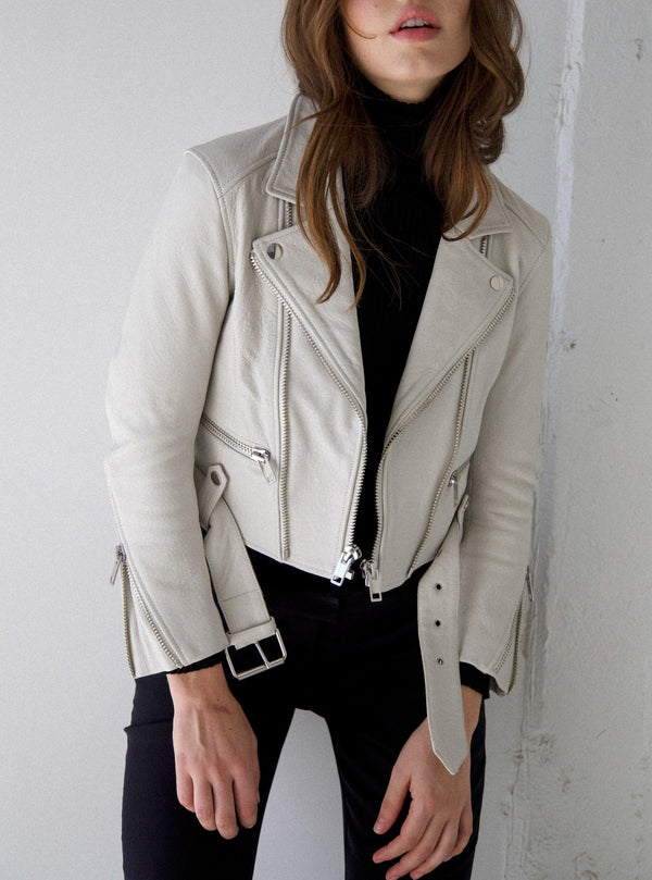 Iben Leather Jacket - White-CPHLA-Tucci Boutique