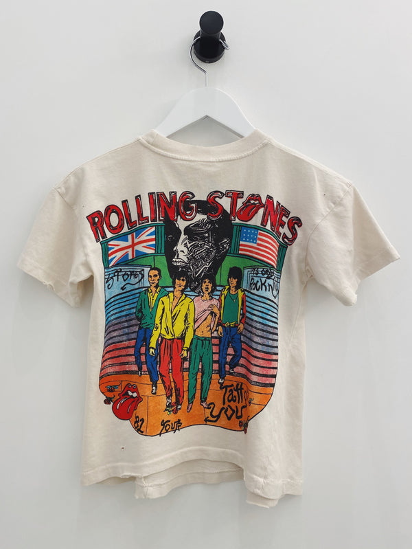 The Rolling Stones Crop Tee-MadeWorn-Tucci Boutique