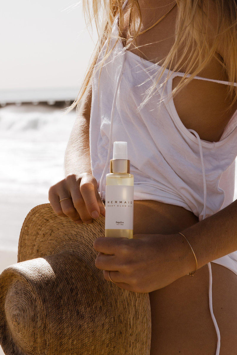 Mermaid Glow Body Oil-Baja Zen-Tucci Boutique