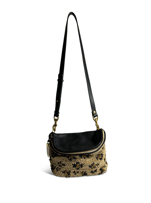 Mini Windbourne Handbag - Leopard Raffia-Kempton & Co-Tucci Boutique