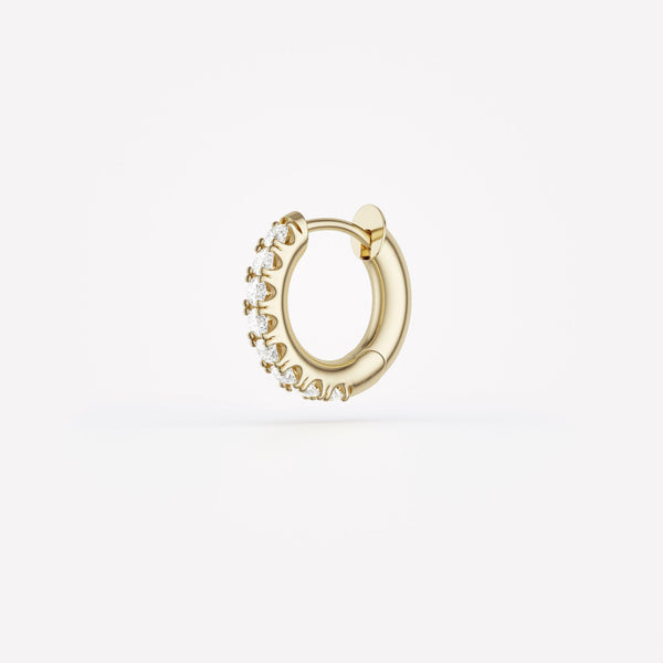 Mini Mico Pavé Hoop Earrings-Spinelli Kilcollin-Tucci Boutique