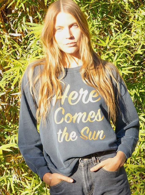 Dori Sweatshirt - Here Comes The Sun-Aquarius Cocktail-Tucci Boutique