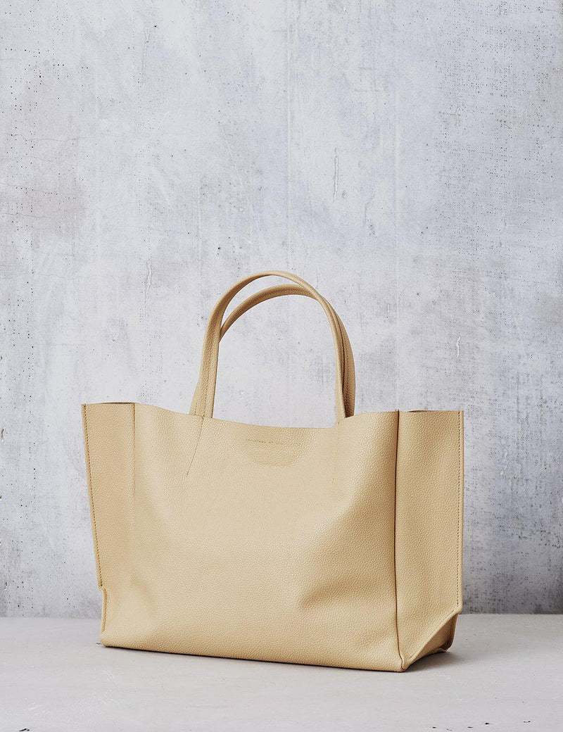 *PRE-ORDER* Sideways Tote - Nude-Ampersand as Apostrophe-Tucci Boutique