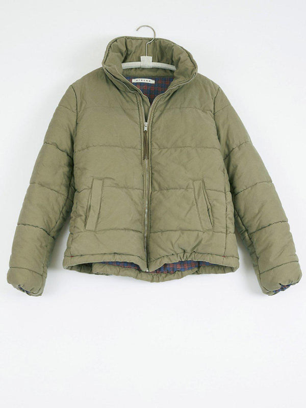 Quynn Puffy Jacket - Tree Green-Xirena-Tucci Boutique