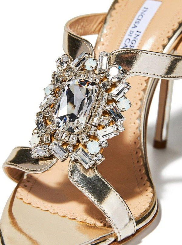 Yeda Crystal Sandals-Ingrid Incisa di Camerana-Tucci Boutique